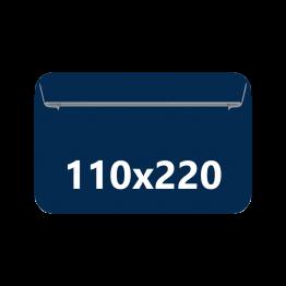 Sobres DIN DL hotmelt, tamaño: 110x220