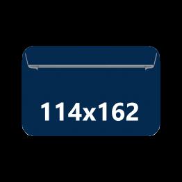Sobres Din C-6, tamaño 114x162