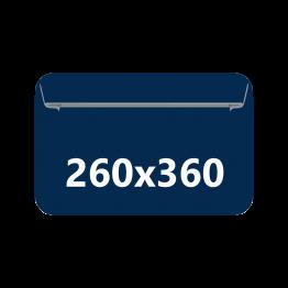Sobres folio prolongado, tamaño 260x360